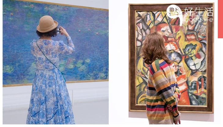 「路人像穿上名畫的衣服」奧地利攝影師在美術館拍下參觀者,竟出現有趣的混合現象!