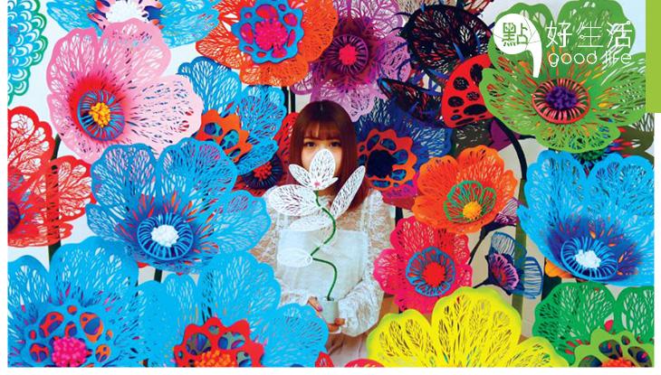 日本大師打做繽紛「紙花海」 海港城展出逾100枝紙花!  任試50款香水