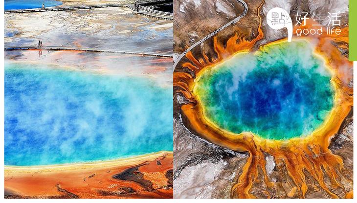 去過美國大稜鏡溫泉,才發現地球上原來存在如此不可思義、壯觀的自然之景!