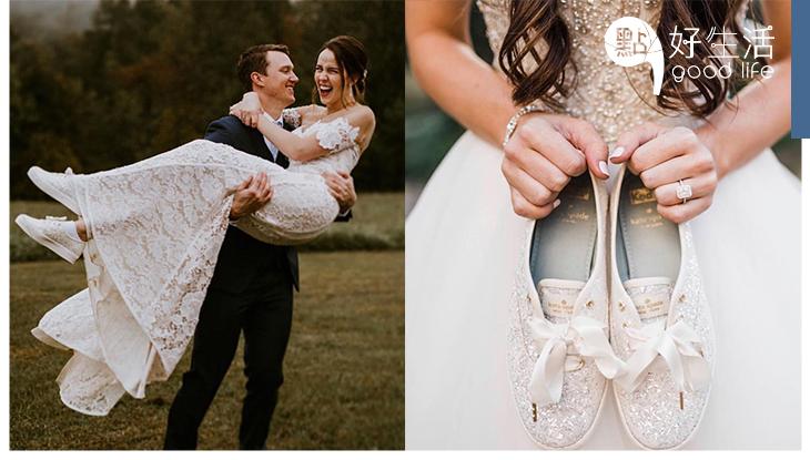 大日子不怕腳痛!Keds X Kate Spade再推婚鞋系列,私心推介5款必買款式!