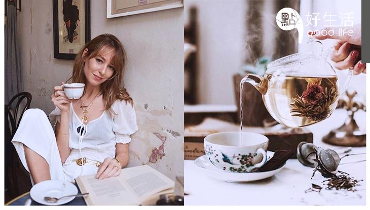 不只咖啡能提神!3款「簡易DIY茶飲」超養生還能提升氣息,保持精神!