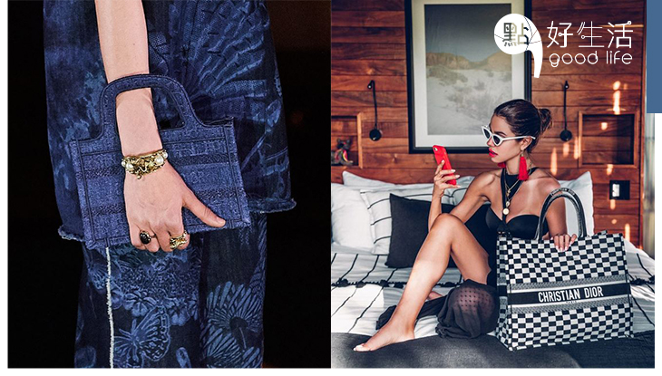 【Dior Cruise 2020】把品牌大熱手袋再度變小,mini size Book Tote誓成下個斷貨王!