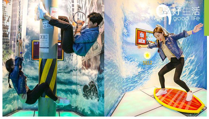 【運動鬆一Zone】鬥智鬥力!闖關鬥高分 韓國仁川室內競技館 好玩兼打卡一流