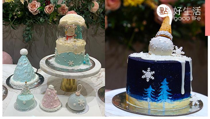 【聖誕限定】Vive Cake Boutique推多款夢幻蛋糕共度聖誕,玻璃球獨角獸造型蛋糕超觸目!