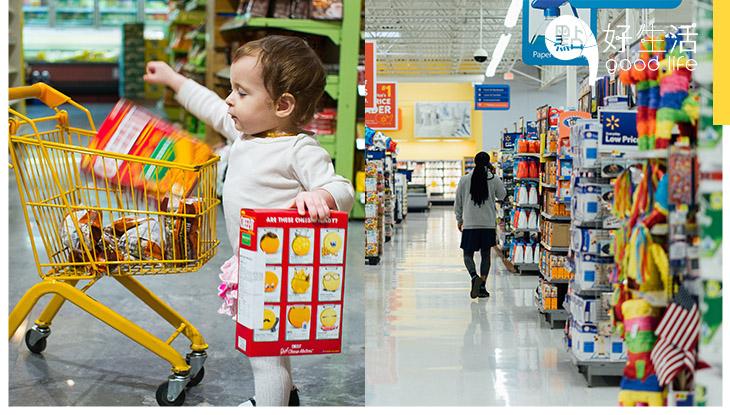 打算到超級市場買水果,結果買了一大堆東西,伏!你有想過這是貨架佈局在發功,令人越買越多嗎?