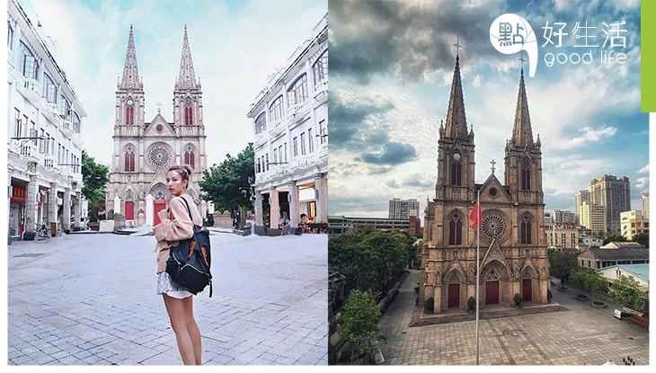 這裡竟是廣州?超宏偉石室聖心大教堂 用上25年建成!罕有古舊西式建築,有助了解歷史!