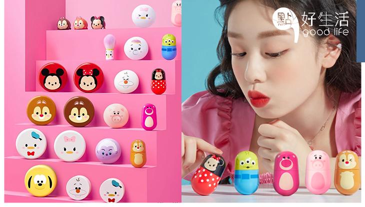 童趣女生必買:韓國Etude House聯乘迪士尼推出「Tsum Tsum系列」不倒翁唇彩更可以變成玩具!