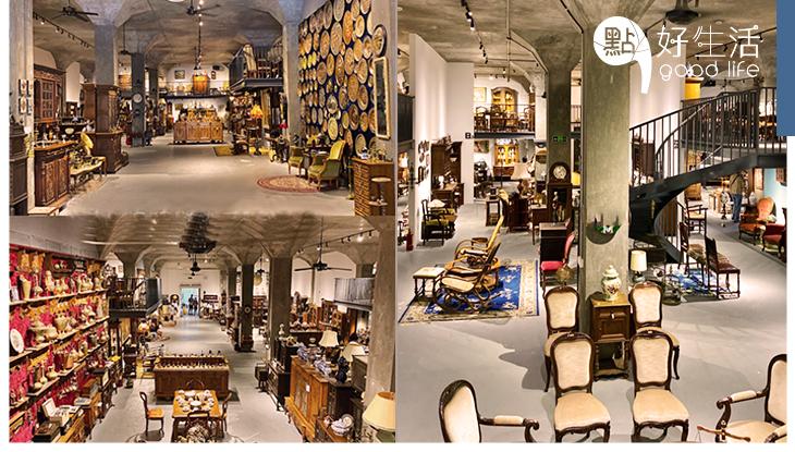 滿滿懷舊感:廣州最大型古董家具倉庫「西洋記」仿如回到舊世紀,絕對是尋寶好地方!