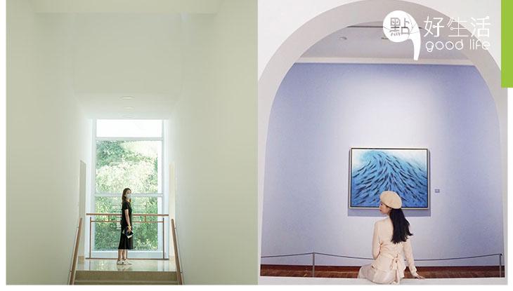 【文青必到】美翻天的深圳何香凝美術館 一磚一瓦樓梯間都散發文藝氣息!每個展覽都十分高質,值得大家一再細味!