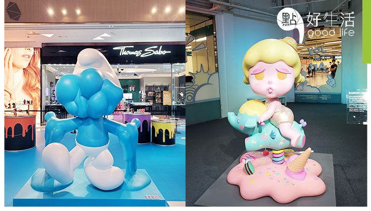 【暑假好去處】尖沙咀K11新展覽Let's POP! 開幕 必玩AR互動打卡 + 2米高「熱到融」藍精靈!逾20款玩具全球首發