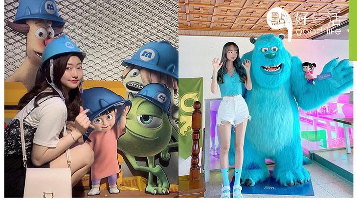 【華麗得要尖叫的級數】韓國三清洞怪獸大學主題店! 1比1毛毛雕塑太誇張了 + 連露台及鐵閘都變身夢幻打卡點