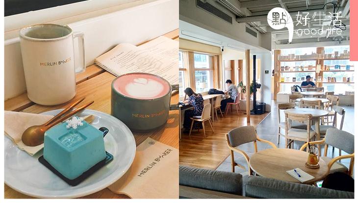 文青大愛!深圳「槑林書店」打造簡約日系咖啡書店,必食賣相一流的「igable」小蛋糕!