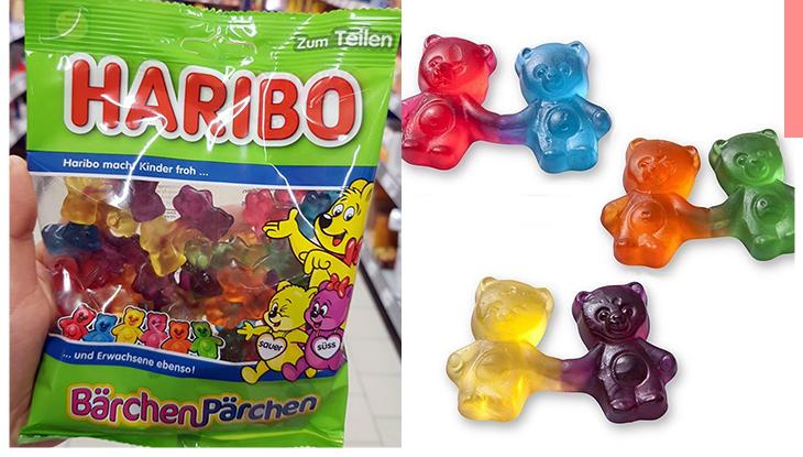 比一般糖果還要甜蜜!HARIBO推牽手版本熊仔糖,小熊們兩手相牽的樣子超可愛,必搶這特別版!