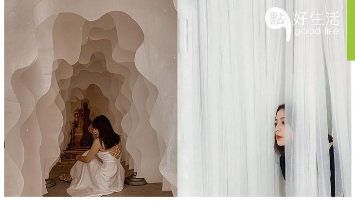 【有質感的藝術館】台中纖維工藝博物館 締造不一樣的夢幻美學,隨手拍出清新照!感受線與布的生命力
