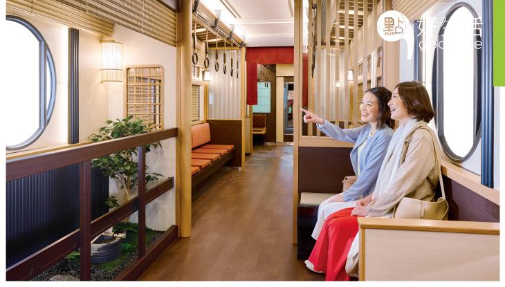 已經沒有人能阻止日本人的創意了!列車強植極致華麗京都風 即日玩阪急電鐵限定主題車廂!