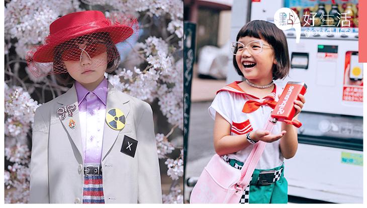 8歲時你在做什麼?來自日本的小潮童Coco,別人8歲已成為Chanel時尚品牌的嘉賓!
