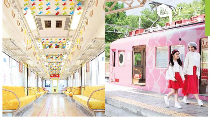 乘著可愛鯛魚遊加太! 日本萌爆鯛魚列車  加太魚線小清新內部設計