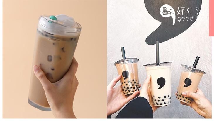 【珍奶控必備!】台灣設計師研發「環保手搖杯」,無須飲管亦能輕易飲到珍珠奶茶!