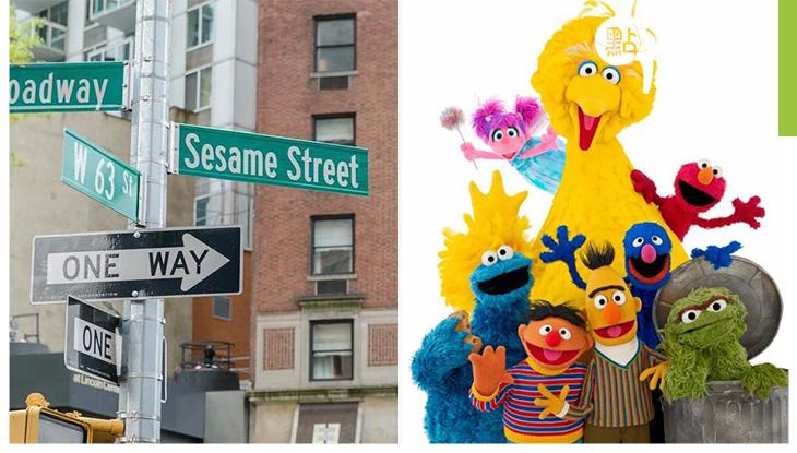 真正的「芝麻街」终於出現了!約紐市把百老匯第63街命名為芝麻街,去美國又多一個朝聖點!