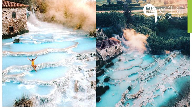 意大利不只有米蘭、威尼斯!Saturnia美如仙境的隱世天然硫磺溫泉,重點是免費入場!