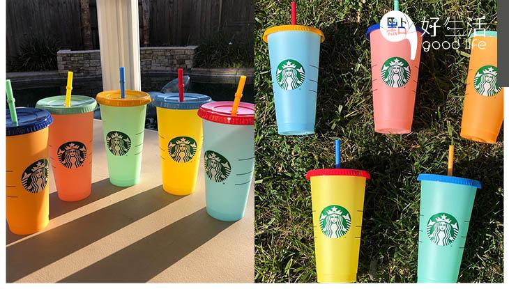 美國加拿大Starbucks推出變色杯, 5隻僅售17美元!eBay上被炒高5倍