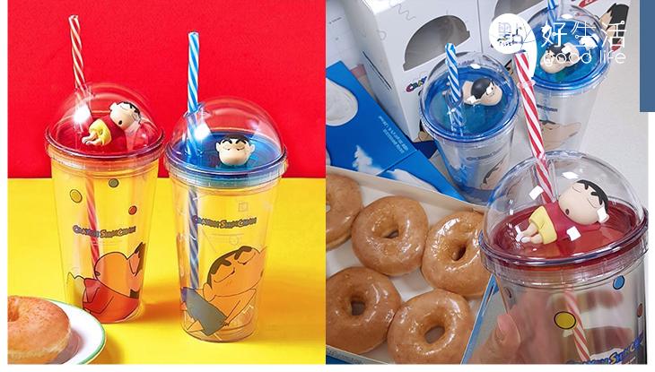 好想要啊!韓國推出「蠟筆小新隨行杯」立體的小新可愛到極,保證看一眼就想買下來!