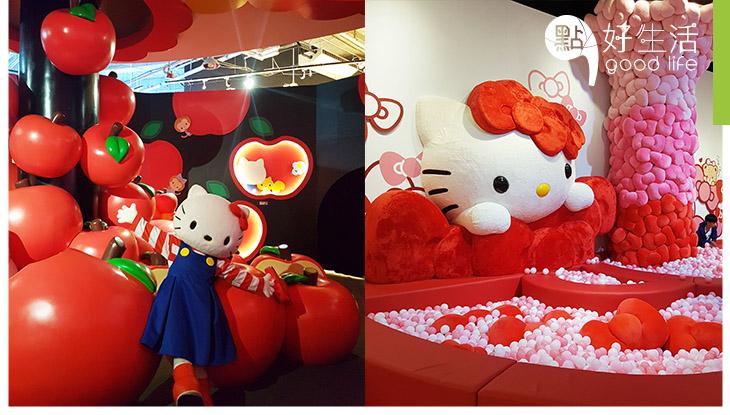 【暑假親子好去處2019】澳門Hello Kitty 45週年展開幕 獨家小貼士,10大展區大披露!9米長波波池、糖果色冬甩韆鞦