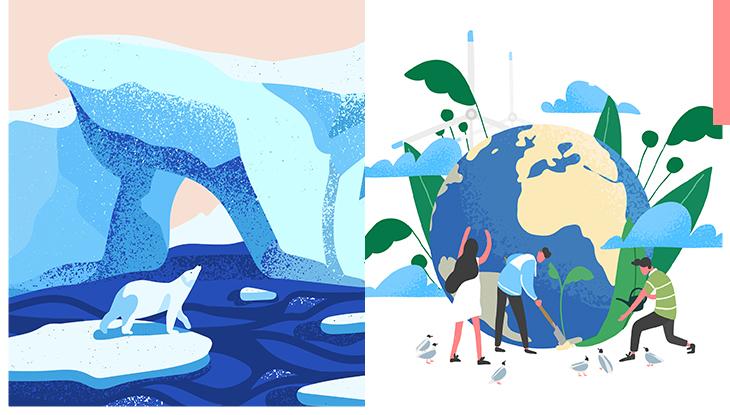不想再看到北極熊活受罪!「全球暖化」議題刻不容緩,就算我們不是超級英雄也可以拯救地球!