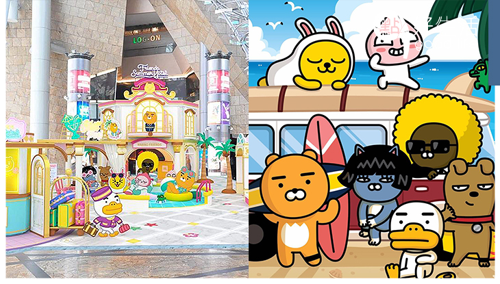 KAKAO FRIENDS全港首間「FRIENDS SUMMER HOTEL」精選全球首賣夏日造型系列產品