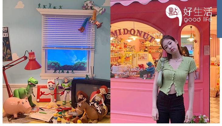 Jennie也來朝聖:韓國人氣復古玩具店 Mimidonut滿滿夢幻童真感,連迪士尼公仔都非常齊全!