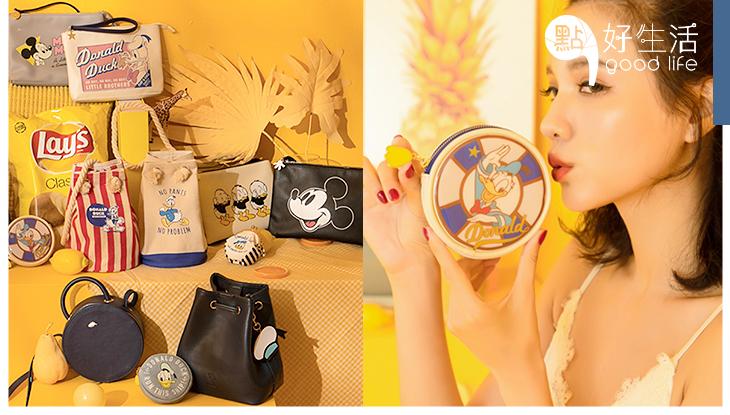 慶祝唐老鴨周年:台灣品牌推出「唐老鴨85歲系列」可愛水桶包、休閒鞋充滿童趣,根本不能拒絕!