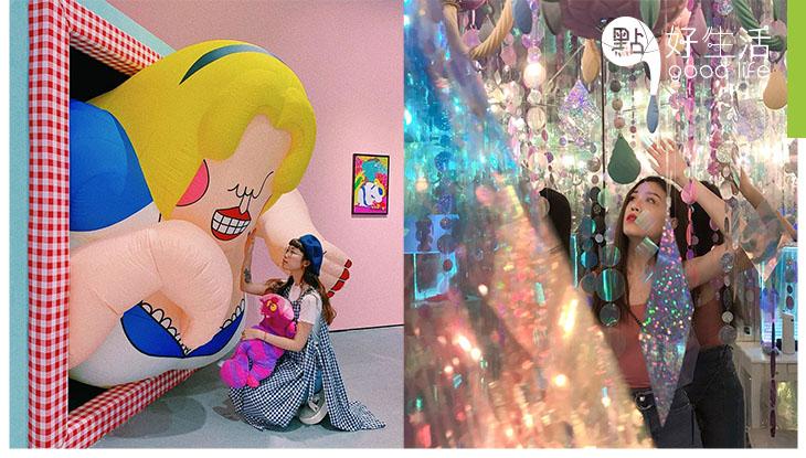 【打卡必到!】台北愛麗絲夢遊奇境體驗展 夢幻感太重了吧!與三月兔及瘋帽子嘆下午茶,走進華麗愛麗絲小屋
