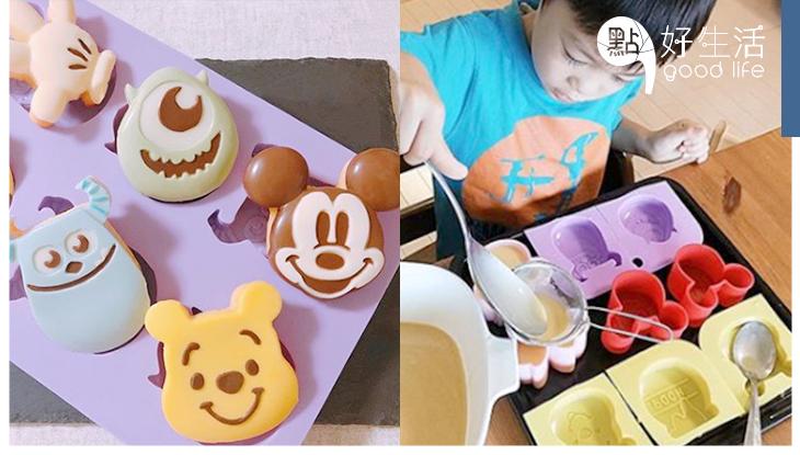 撇掉地獄廚神!日本DASIO推出100円「迪士尼煮食模具」DIY小食也能擁有神級水準!