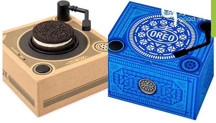 【Oreo迷必玩】超過癮!食得又玩得Oreo Music Box 根據Oreo大小會播放不同音樂,日本Amazon限定版!