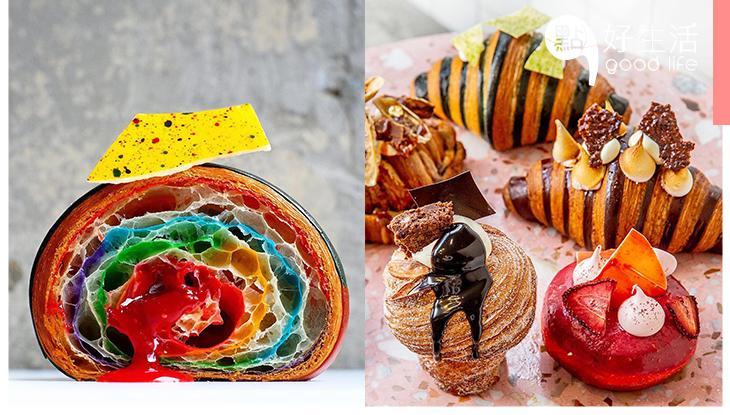 【旅行Chill住食】紐約人氣麵包店Supermoon Bakehouse,必食招牌作彩虹流心牛角包!