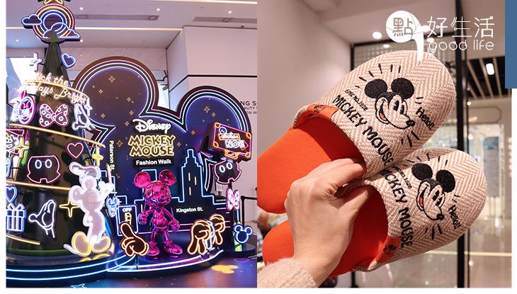 聖誕必買:銅鑼灣Mickey期間限定店,多款日本直送迪士尼精品!巨型霓虹聖誕樹成熱門打卡點!