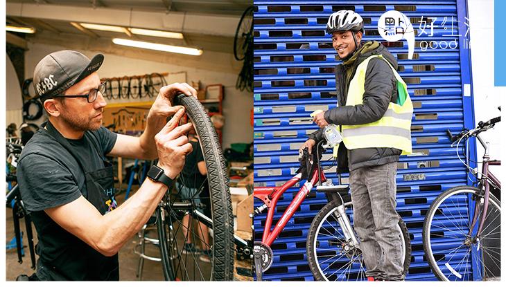 熱心助人竟能成事業!倫敦年輕人創立「二手單車王國」為難民走出悲情小社區!