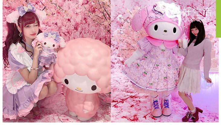 【卡哇依呢】My Melody粉絲必訪!日本Sanrio Puroland設My Melody花園!45週年特別慶祝活動,全天候粉紅少女心櫻花花園