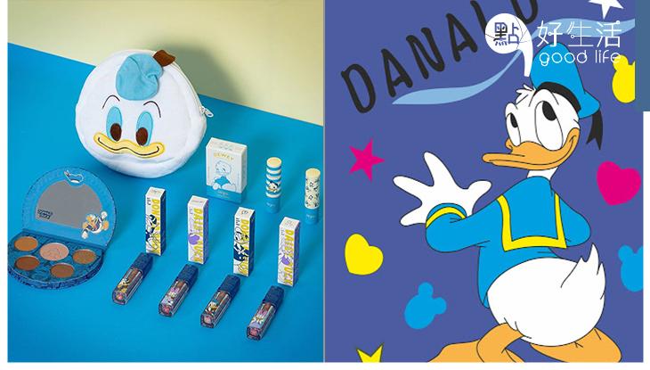 唐老鴨生日快樂!台灣美妝品牌FreshO2推出「唐老鴨彩妝系列」全套藍色超夢幻,唐老鴨圖案十分可愛!