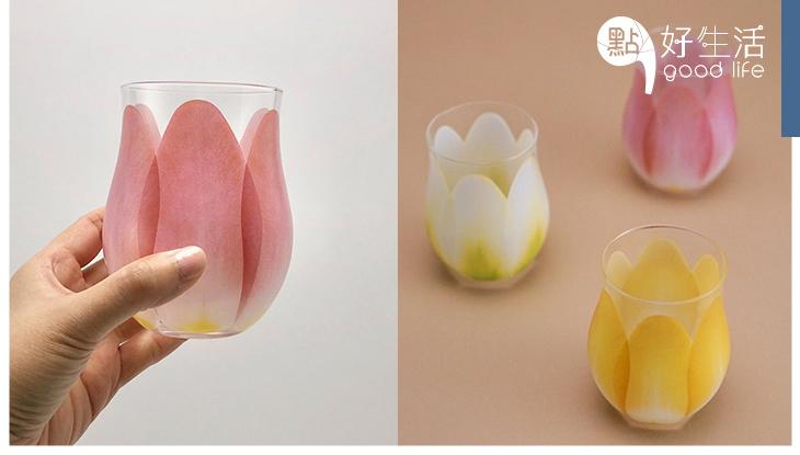 日本超大熱!開賣立即售罄的「鬱金香玻璃杯」展現高貴優美質感,讓家居增添雅緻的復古風格!