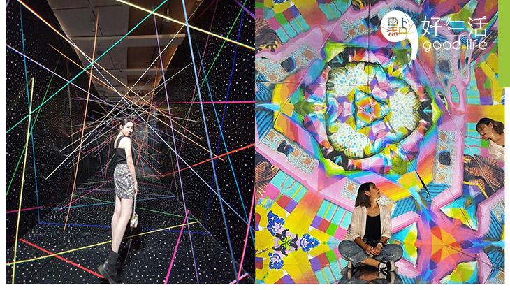 【彩色控必到】廣州K11最新展覽「卡奧斯狂想」 展現出超繽紛絢爛世界!必影大型萬花筒打卡位 + 彩色雷射陣超搞鬼