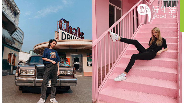 【復古美國風】廣州大型攝影場地Pinkstar ArtSpace 攝影棚超高質素,復古汽車 + 大型霓虹燈牌!恍如一下子穿越到美國加州一樣!