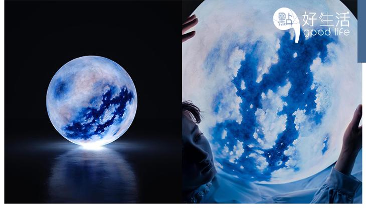 超浪漫啊~台灣工作室推出「月球燈」手造星球,展現月亮的空靈夢幻感,散發治癒氣息!
