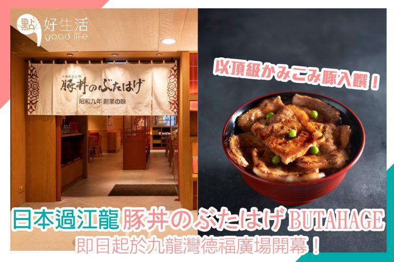 日本過江龍「豚丼のぶたはげ BUTAHAGE」登陸九龍灣德福廣場!
