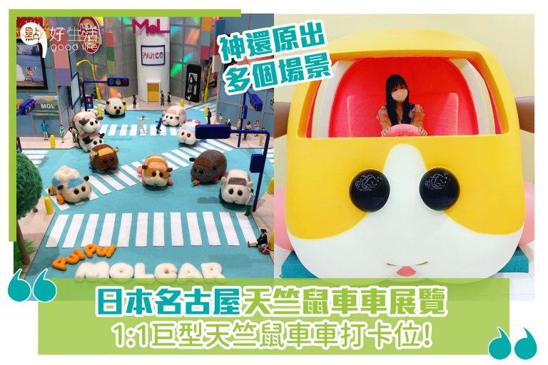 日本名古屋天竺鼠車車展覽,1:1巨型天竺鼠車車打卡位!神還原出多個場景!